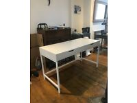 White IKEA Alex Desk