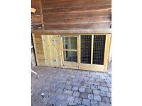 Large dog house kennel