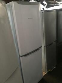 Hotpoint silver good looking frost free A-class fridge freezer