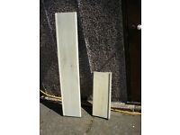 Precast hollow window/door sills x2, 4 feet long and 540mm, unused