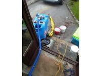 Airflex pro 600 psi carpet cleaning machine