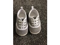 Baby trainer style shoes like new £2