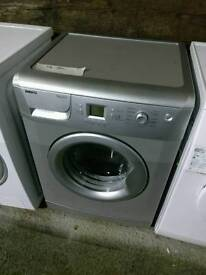 Silver Beko 7kg Washing Machine, FREE LOCAL DELIVERY AND INSTALL