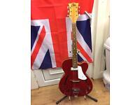Eko electric semi acoustic vintage guitar