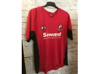 AFC Bournemouth Football Shirt, 2004/06, Size Large, Bourne Red, Great