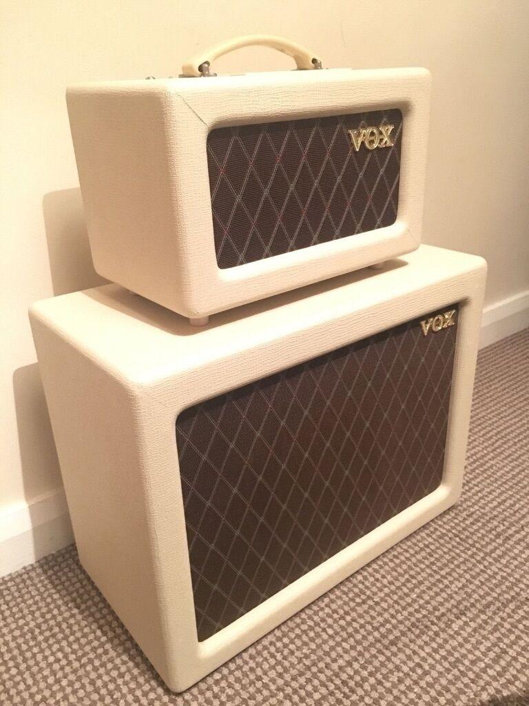 Vox AC4TV Tube Guitar Amp Half Stack Head V112TV AC4TVH Speaker ...