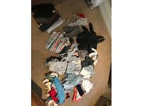Large baby boys 6-9months clothes
