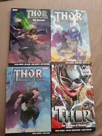 Thor graphic novels marvel now.