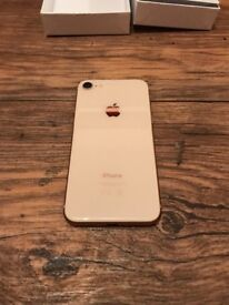 iPhone 8 256gb gold Vodafone network
