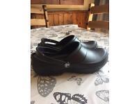 Women's black Crocs size 6