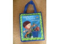 x9 Brand new Harry & his bucketful of dinosaurs books with collectors bag £15