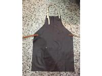 Hand crafted Leather apron - suit woodworking, barista,
