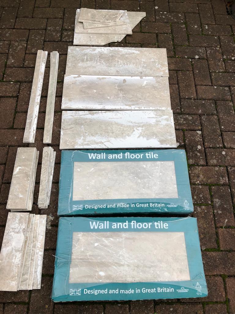 Job lot collection beige floorwall tiles 60x30cms bathroom in job lot collection beige floorwall tiles 60x30cms bathroom dailygadgetfo Image collections