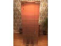 3 wooden blinds