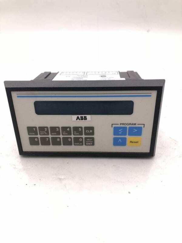 ABB Model R-420 Flow Meter Controller/Rate Totalizer 57630-420