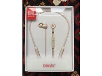 BeatsX Earphones - Matte Gold, New and sealed in the box