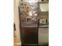 Working fridge freezer (H 190 cm W 70 cm D 55 cm) for sale - very cheap, must be picked up