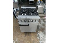 Falcon 4 burners NAT GAS cooker with oven commercial heavy duty for catering