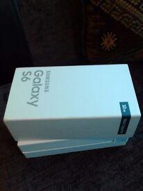 new and still in box Samsung Galaxy S6 32 GB