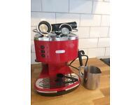 DeLonghi ECO 310 Espresso Machine - Red