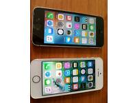 Iphone 5s black and white both ee network and 16gb
