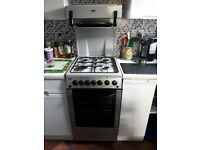 Beko 62L Gas Cooker with Single Oven and Grill. 50cm £120.o.n.o.