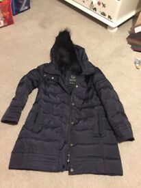Zara Girls Winter Coat 6-7 years