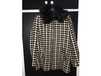 Ladies river island coat size 14