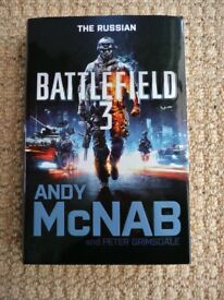 Battlefield 3 The Russian Hardback Book Andy McNab Action Adventure Christmas Stocking Filler Gift