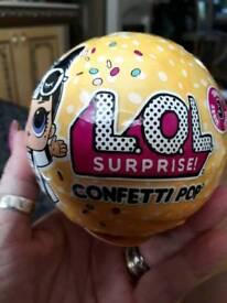 Lol suprise ball