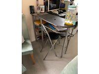 Free breakfast bar and 2 stools