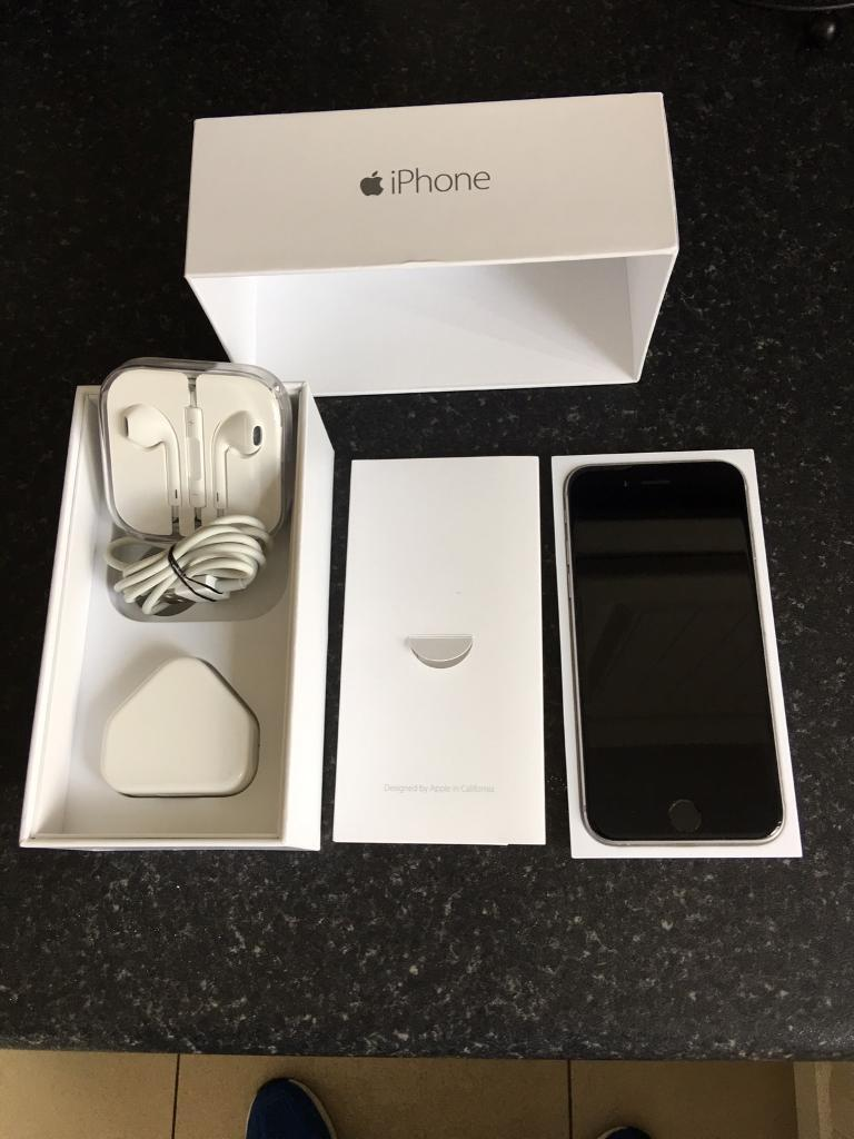 Apple iPhone 6 space gray 16gb unlocked in as new conditionin Newtownabbey, County AntrimGumtree - Apple iPhone 6 in space gray 16gb unlocked so any sim will work in as new condition this comes with original box sim pin new apple earphones genuine apple charging plug and lead thanks for looking