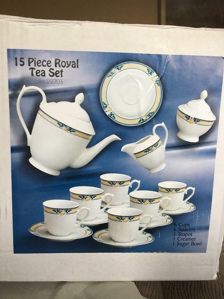 Tea Set inc Tea Pot New in Box