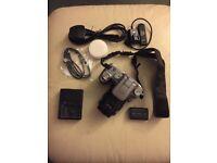 Sony A100 DSLR + Minolta 35 - 70mm Lens