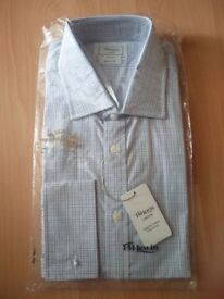 2 x NEW TM Lewis shirts- £19.99 each casual formal long sleeve white blue with tags XL
