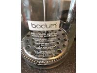 Bodum Cafetière and Stainless Steel Milk Jug
