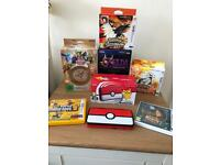Nintendo 2DS Xl Pokemon Pokeball limited edition console + 6 3DS games