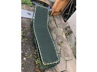 Green Sun Lounger Garden Chair