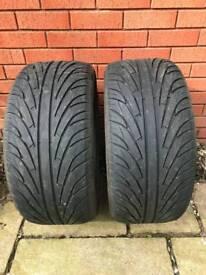 2 x tyres 255/40R17