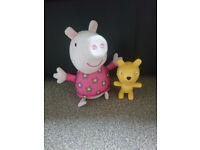 Peppa Pig Hide and Seek Electronic Soft Toy