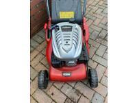Rear roller mower