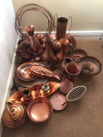 Various Copper Ornaments