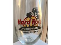 Hard Rock Hurricane Edinburgh Glass