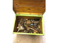 Large Joblot Of Quality Vintage Tools & Chest