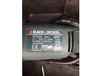 Black &decker routery tools