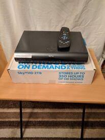 Sky plus + HD box Amstrad DRX 895WL-C 2TB 2016 model