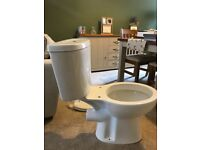 Unused. Brand new Toilet and Toilet Seat from Victoria Plumb