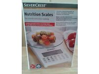 Silvercrest nutrition scales