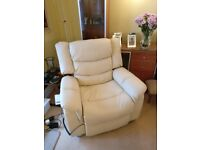 Electric riser recliner chair, dual motor - new