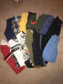 Boys clothing bundle ages 6 and 7 mostly next but some river island and a Nike hoody in there too